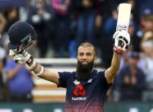Moeen Ali scored 52-ball 100 for England to brush aside West Indies