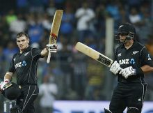New Zealand's Tom Latham produced a century to steer his side six wicket win over India at Mumbai